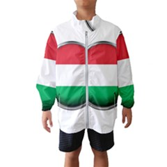 Hungary Flag Country Countries Wind Breaker (kids)