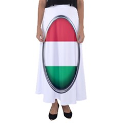 Hungary Flag Country Countries Flared Maxi Skirt