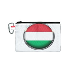 Hungary Flag Country Countries Canvas Cosmetic Bag (small)