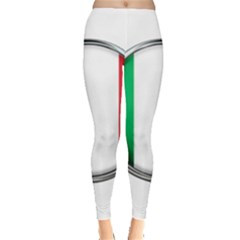 Italy Country Nation Flag Leggings