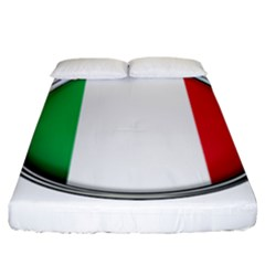 Italy Country Nation Flag Fitted Sheet (king Size)