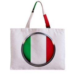 Italy Country Nation Flag Zipper Mini Tote Bag