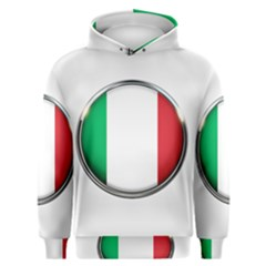 Italy Country Nation Flag Men s Overhead Hoodie