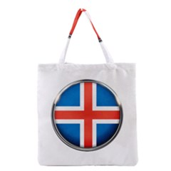 Iceland Flag Europe National Grocery Tote Bag