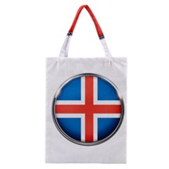 Iceland Flag Europe National Classic Tote Bag
