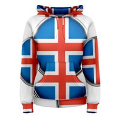 Iceland Flag Europe National Women s Pullover Hoodie