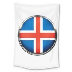 Iceland Flag Europe National Large Tapestry