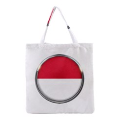 Monaco Or Indonesia Country Nation Nationality Grocery Tote Bag