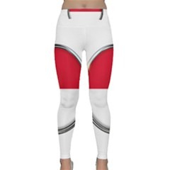 Monaco Or Indonesia Country Nation Nationality Classic Yoga Leggings