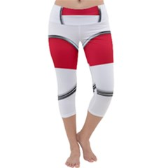 Monaco Or Indonesia Country Nation Nationality Capri Yoga Leggings