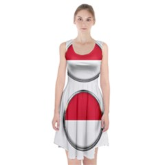 Monaco Or Indonesia Country Nation Nationality Racerback Midi Dress