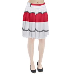 Monaco Or Indonesia Country Nation Nationality Pleated Skirt