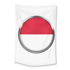 Monaco Or Indonesia Country Nation Nationality Small Tapestry