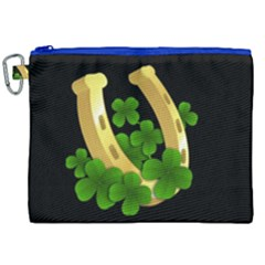 St  Patricks Day  Canvas Cosmetic Bag (xxl) by Valentinaart