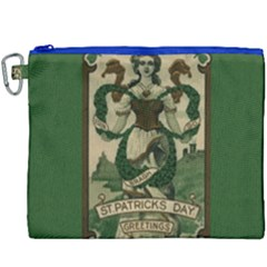 St  Patricks Day  Canvas Cosmetic Bag (xxxl) by Valentinaart