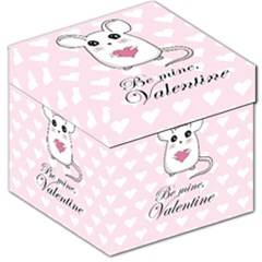 Cute Mouse   Valentines Day Storage Stool 12   by Valentinaart