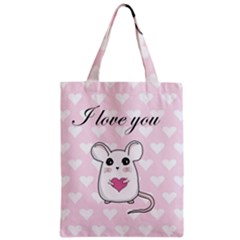 Cute Mouse   Valentines Day Classic Tote Bag by Valentinaart