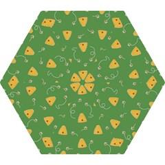Bee Pattern Mini Folding Umbrellas by Valentinaart