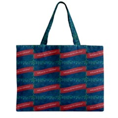 Valentine Day Pattern Zipper Medium Tote Bag by dflcprints