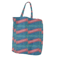 Valentine Day Pattern Giant Grocery Zipper Tote by dflcprints
