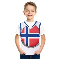 Norway Country Nation Blue Symbol Kids  Sportswear