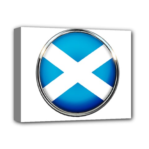 Scotland Nation Country Nationality Deluxe Canvas 14  X 11