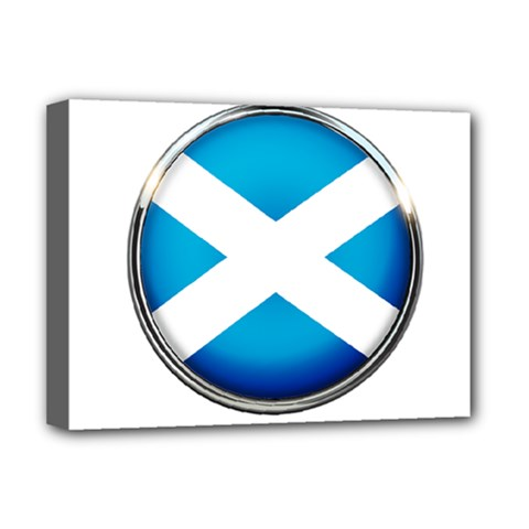 Scotland Nation Country Nationality Deluxe Canvas 16  X 12