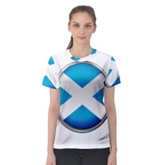 Scotland Nation Country Nationality Women s Sport Mesh Tee
