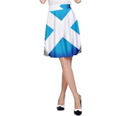 Scotland Nation Country Nationality A Line Skirt