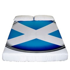 Scotland Nation Country Nationality Fitted Sheet (king Size)