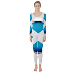 Scotland Nation Country Nationality Long Sleeve Catsuit