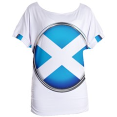 Scotland Nation Country Nationality Women s Oversized Tee