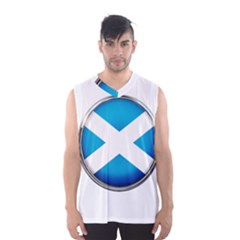 Scotland Nation Country Nationality Men s Basketball Tank Top