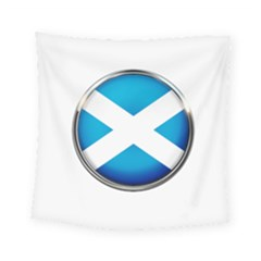 Scotland Nation Country Nationality Square Tapestry (small)