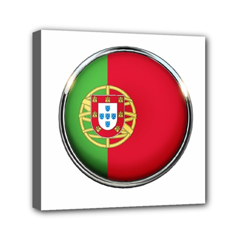 Portugal Flag Country Nation Canvas Travel Bag
