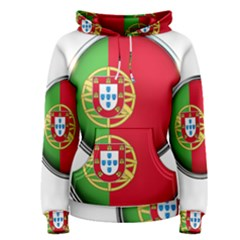 Portugal Flag Country Nation Women s Pullover Hoodie