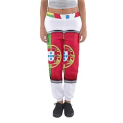 Portugal Flag Country Nation Women s Jogger Sweatpants