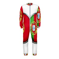 Portugal Flag Country Nation Onepiece Jumpsuit (kids)