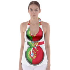 Portugal Flag Country Nation Babydoll Tankini Top