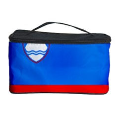 Slovenia Flag Mountains Country Cosmetic Storage Case