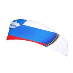 Slovenia Flag Mountains Country Stretchable Headband