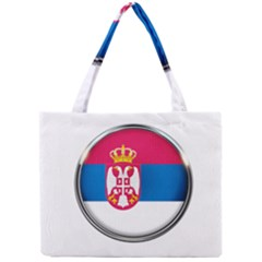 Serbia Flag Icon Europe National Mini Tote Bag