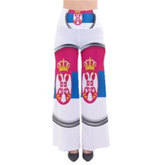 Serbia Flag Icon Europe National Pants