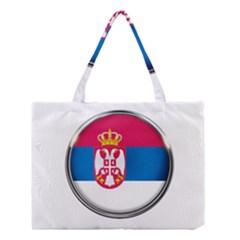 Serbia Flag Icon Europe National Medium Tote Bag by Nexatart