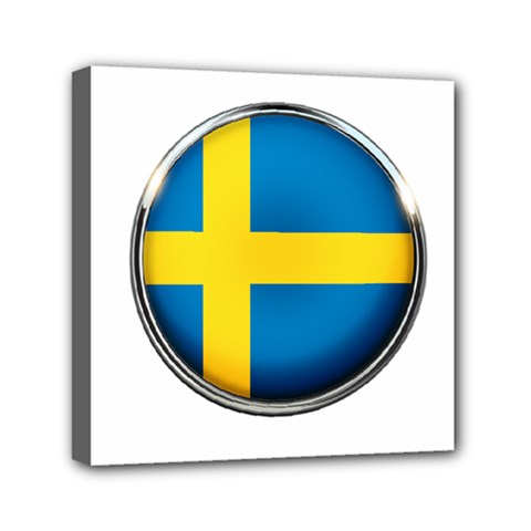 Sweden Flag Country Countries Canvas Travel Bag