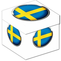 Sweden Flag Country Countries Storage Stool 12   by Nexatart