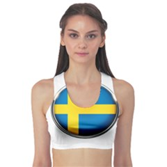 Sweden Flag Country Countries Sports Bra