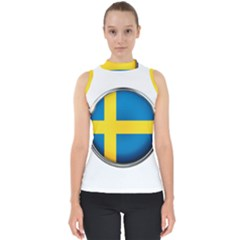 Sweden Flag Country Countries Shell Top