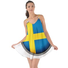 Sweden Flag Country Countries Love The Sun Cover Up
