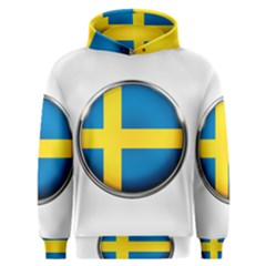 Sweden Flag Country Countries Men s Overhead Hoodie